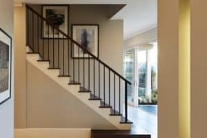 Contemporary Stair - SSH Display Home St Clair