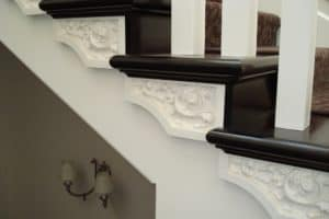 Custom ornate profile federation staircase - Staors by Design (5)