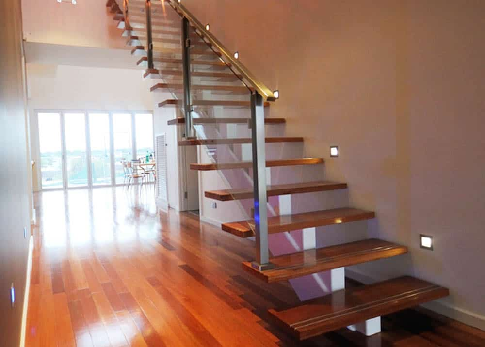 Stairs design custom made monorail 4 stairs by design for Custom staircase design
